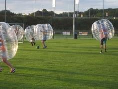 Teamuitje Bubbel voetbal België
